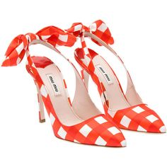 Miu Miu Pumps -- don't know what i would ever wear with them, but they are cuuuute