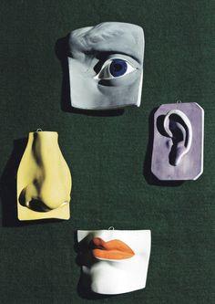 The Eye of Male Mortality, 1947. Blumenfeld