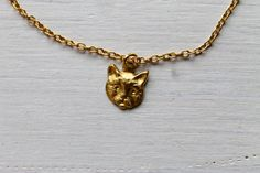 kitten -necklace