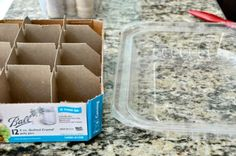 I have been saving some old boxes and cardboard tubes and plastic lids and such for the past several weeks… it's so wonderful how you can recycle things you find around your home into s…