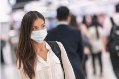 Virus mask Asian woman travel wearing face protection in prevention for coronavirus in China. Lady walking in public space bus station or airport. - Buy this stock photo and explore similar images at Adobe Stock In China, Wuhan, Alcohol En Gel, St Louis News, How Many People, Influenza, Public Health, Asian Woman, Trip Advisor