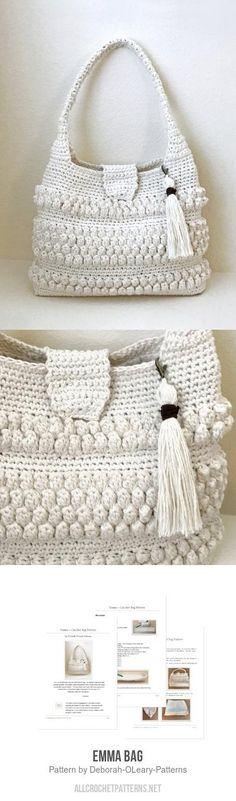 Emma Bag crochet pattern