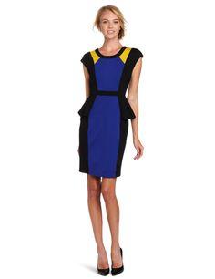 Yoana Baraschi Womens 3-Color Peplum Michelle Dress