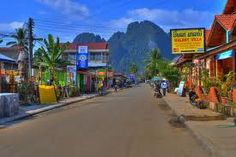 Vang Vieng Laos is a great base for kayaking, caving and treks to hill tibe villages.