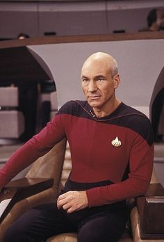 As a graduate of Star Fleet Academy I was both hurt and satisfied when Jean-Luc Picard was chosen to command the Star Ship Enterprise instead of me. I salute you Jean-Luc!