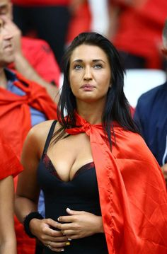 Albanian supporters Euro 2016 Group A soccer match between France vs Albania at the Velodrome Stadium in Marseille, France, Wednesday, June 15, 2016.//CIAMBELLI_1300.006/Credit:CIAMBELLI/SIPA/1606152041
