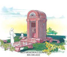 Greenberg Mausoleum Designs | West Memorials