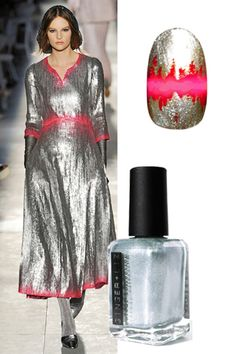Get the runway on your nails with these manicures