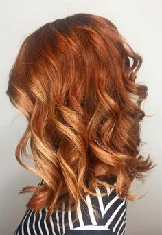 Tips for Choosing and Dyeing Your Hair Copper Shades