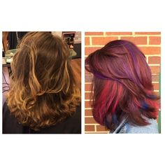 We love this all over color and chunks of fun style for this lovely client! Excellent work by Stylist Cassidy! Reserve today: (703) 327-9408 or visit http://eclipsashburn.com