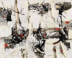 Fifty works by Jean-Paul Riopelle, Paul-Émile Borduas, Jean Paul Lemieux and others have been gifted to a museum best known for its Group of Seven holdings. Tachisme, Abstract Art Images, Aboriginal Artists, Great Paintings, Fine Art Auctions, Black And White Abstract, Canadian Artists, Sculpture, Western Art