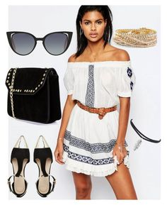 """""""Untitled #911"""" by gabbyriera on Polyvore featuring Tularosa, ASOS, Boohoo, Fendi and Torrid"""