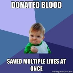Nothing will make you more confident than saving lives.