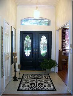 Front doors on the inside on pinterest black front doors inside