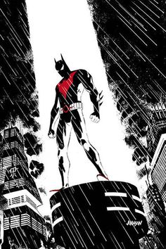 Drawing Dc Comics Batman Beyond Comic Issue 24 Limited Variant Modern Age First Print Jurgens DC - Batman Painting, Batman Artwork, Batman Wallpaper, Dc Comics Art, Fun Comics, Marvel Dc Comics, Best Comic Books, Comic Books Art, Im Batman
