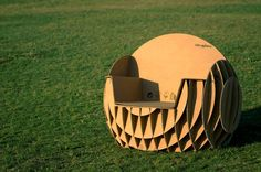 Cardboard Rocking chair