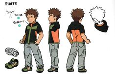 Included in the new guide for Pokemon: Let's Go, Pikachu and Pokemon: Let's Go, Eevee is a bunch of concept art for the game. The images show off characters, settings, and more. Find the full set of concept art below. Brock Pokemon, Pokemon Oc, Pokemon Fan Art, Cute Pokemon, Pokemon Stuff, Wind Waker, Pikachu, Gta 5, Character Concept