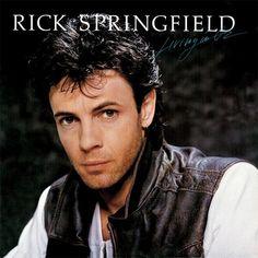 Rick Springfield Living In Oz - vinyl LP