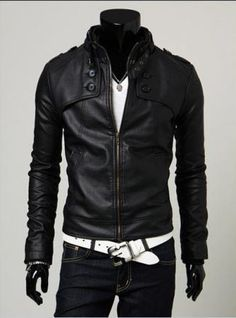 Cheap Faux Leather Coats, Buy Directly from China Suppliers:New Fashion Mens Soft Leather Jackets Coats Slim Leather Motorcycle Jacket Men Black Leather Jacket For Men Veste Cuir Homme Pu Jacket, Men's Leather Jacket, Jacket Style, Leather Men, Leather Jackets, Biker Leather, Jacket Men, Black Leather, Motorcycle Leather