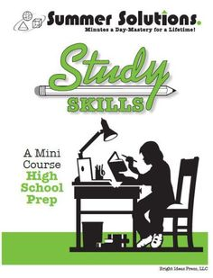 The Study Skills series is designed to address organizational skills, such as using graphic organizers, note-taking, summarizing, and test-taking strategies, while also practicing main idea, context clues, and memorization techniques.    Series is available for grades 4-7 and High School Prep.