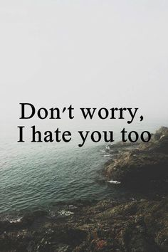 I think I hate you most Hate You Quotes, Bitch Quotes, Sassy Quotes, Badass Quotes, Sarcastic Quotes, Mood Quotes, Funny Quotes, Life Quotes, Attitude Qoutes