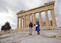 Αποτέλεσμα εικόνας για barack obama at the acropolis