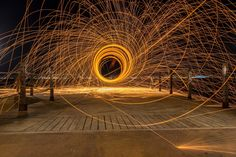 Light painting with steel wool by Emrah Durtlu on 500px