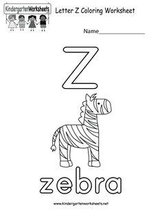 Letter D coloring worksheet for kids in preschool or