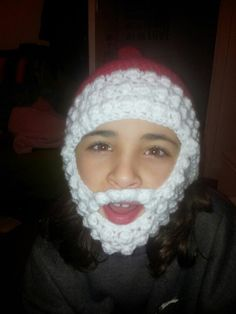 Bearded santa hats