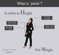 ciò che è petite circa altezza non appesantire le donne della moda