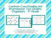3rd Grade Common Core Reading Graphic Graphic Organizers product from TheTeacherCouple on TeachersNotebook.com
