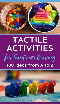 100 Hands-On Activities for Tactile Learners - Rolling Prairie Readers