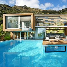 Beautiful outdoor pool | jebiga | #architecture #outdoorpool #design #exterior #jebiga