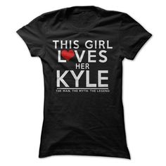 Loves Kyle - #photo gift #candy gift. GET => https://www.sunfrog.com/LifeStyle/Loves-Kyle-37231635-Ladies.html?68278