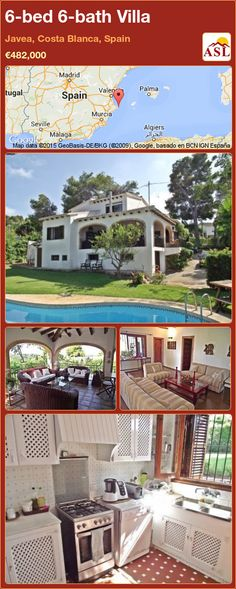 Villa for Sale in Javea, Costa Blanca, Spain with 6 bedrooms, 6 bathrooms - A Spanish Life Bathroom Fireplace, Bbq Area, Central Heating, Murcia, Seville, Private Pool, Malaga, Costa, Madrid