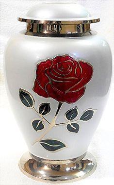 Large Urns For Decoration Custom Star Legacy Silver Flare Teardrop Large  Adult Brass Urn  Ele Inspiration Design