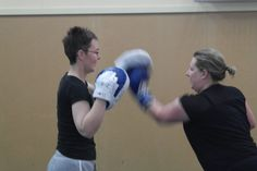 Partner boxing in a group personal training session with Jo Cordell-Cooper of Active Solutions and Health Network Sleep Quality, Relationship Issues, Boxing, Workplace, Medical, Weight Loss, Training, Exercise, Group