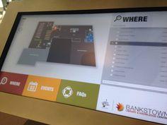 Bankstown Library & Knowledge Centre - Touchscreen Info Kiosk