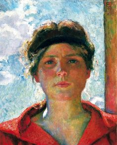 Theo Van Rysselberghe - Jeune femme à contrejour