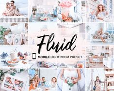 MOBILE Lightroom Preset Fluid, Light Indoor Preset, Bright Airy Preset, Instagram Clean Soft Preset, Photography Editing, Photo Editing, Instagram Grid, Instagram Ideas, Vsco Themes, Edit Your Photos, Stock Photos, Themes Free, How To Pose