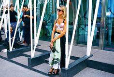Natalie Joos in Antonio Marras and Balenciaga sunglasses - Milan Fashion Week Spring 2015