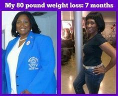 Before and after weight loss pics.