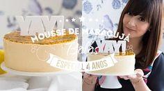 BOLO MOUSSE DE MARACUJÁ | 119 #ICKFD Dani Noce - YouTube