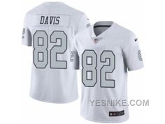 http://www.yesnike.com/big-discount-66-off-mens-nike-oakland-raiders-82-al-davis-limited-white-rush-nfl-jersey.html BIG DISCOUNT! 66% OFF! MEN'S NIKE OAKLAND RAIDERS #82 AL DAVIS LIMITED WHITE RUSH NFL JERSEY Only $28.00 , Free Shipping!