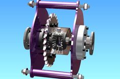Chain Driven Differential