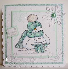 Creations by Bearhouse: Snowmen at the Christmas at Sweet Stampin' Challenge