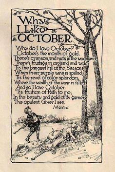Why I like October