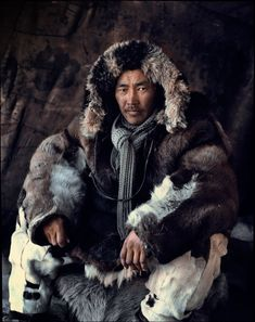 chukotka man of Chukotka Island in Siberia...so remote that they have not been conquered.