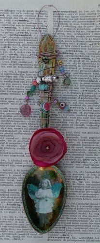 09 Altered Spoon by Alphenstamp, via Flickr
