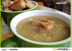 Babiččina chlebová polévka recept - TopRecepty.cz Czech Recipes, Ethnic Recipes, Food 52, Cheeseburger Chowder, Curry, Food And Drink, Eat, Cooking, Soups